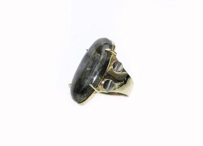 Kelly Wearstler Element Oval Stone Cocktail Ring