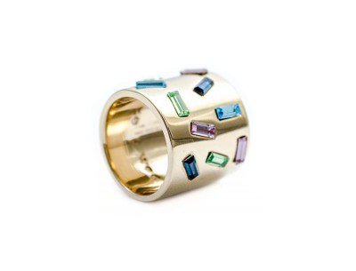 Kelly Wearstler Gold Carlton Ring