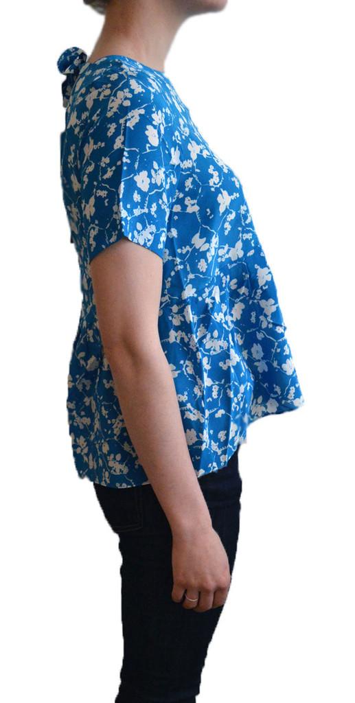 Lauren Moffatt Snapdragon Tie Back Top