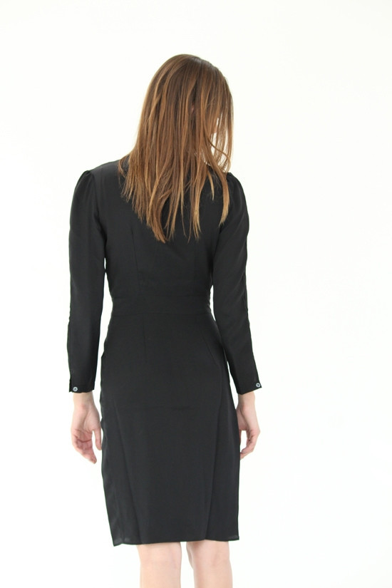Podolls Black Flirt Dress