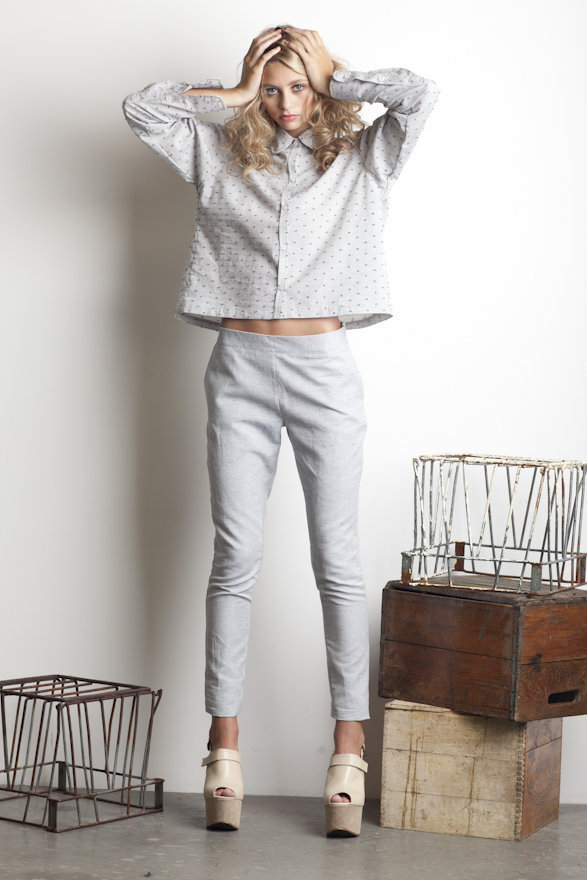 Dace Pear Button-Up