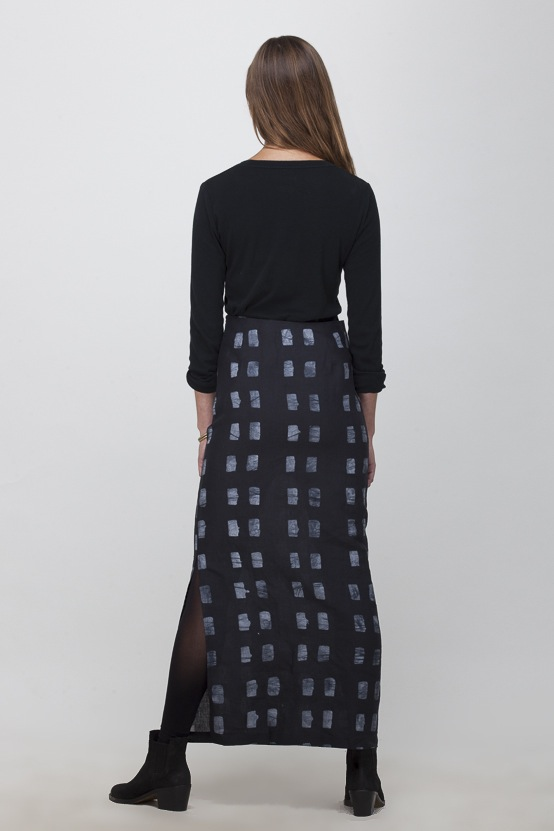 Osei-Duro Column Skirt | Dominos