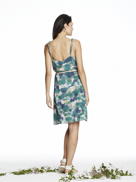 Rachel Rose Braided Silk Dress