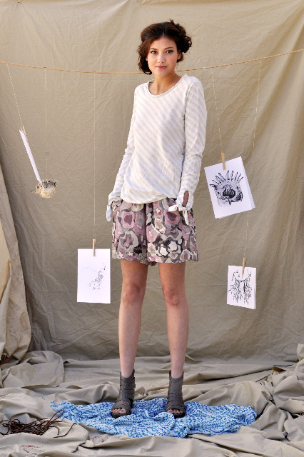 Feral Childe Anemone Shorts