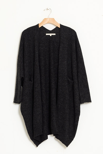 Lauren Manoogian Fine Brushed Wide Cardigan