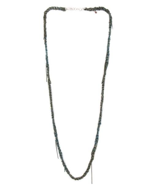 Arielle De Pinto 33 Necklace in Army