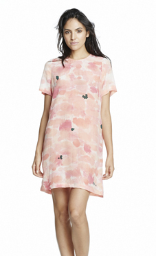 Rachel Rose Silk Shift Dress