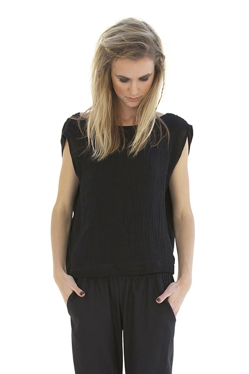 Heidi Merrick Blackpoint Reversible Top