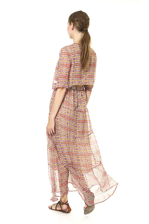 Heidi Merrick Sahara Cutout Tea Dress