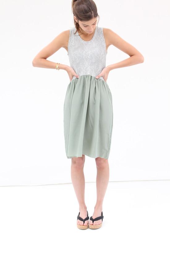 Lina Rennell Gravel Tank Dress
