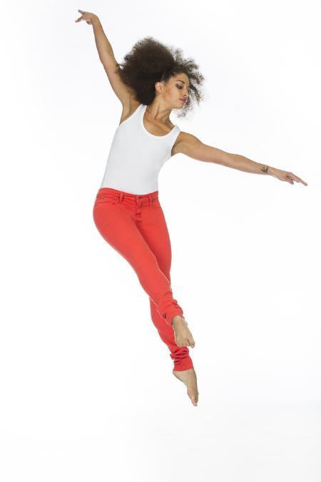 Yoga Jeans High Rise Skinny Leg Jeans