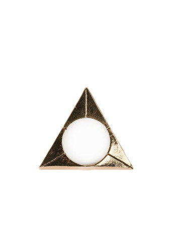 Bones and Feathers Collective Triangle Ring