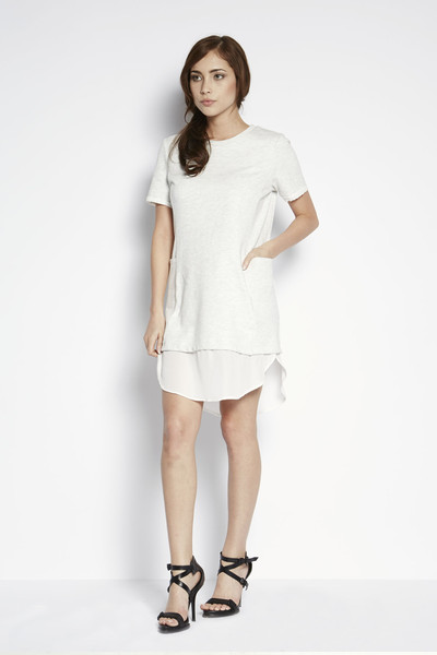 Shades of Grey by Micah Cohen Sweatshirt Dress