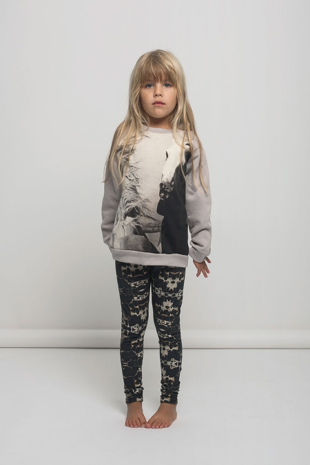 Kid's Popupshop Horse Sweatshirt