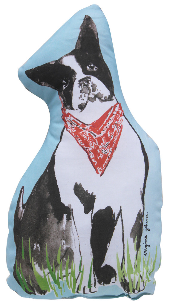 Virginia Johnson Boston Terrier Pillow