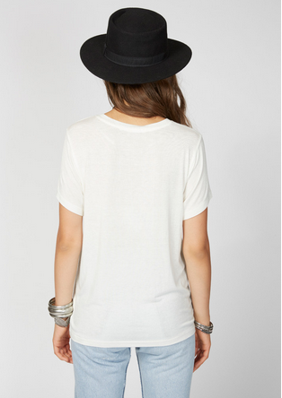 DAYDREAMER LA Bring on the Bubbly Tee | White