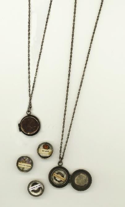 Becky Brisco Antiqued Memento-Mori Locket