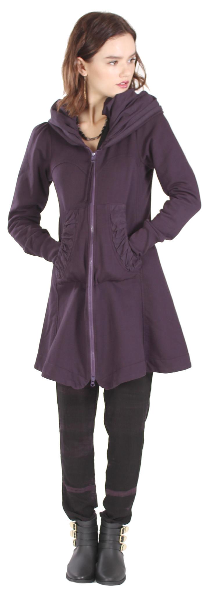 Prairie underground short cloak hoodie