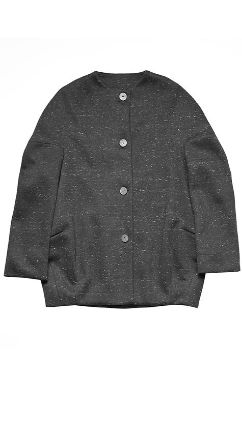Obakki Oversized Scuba Knit Jacket