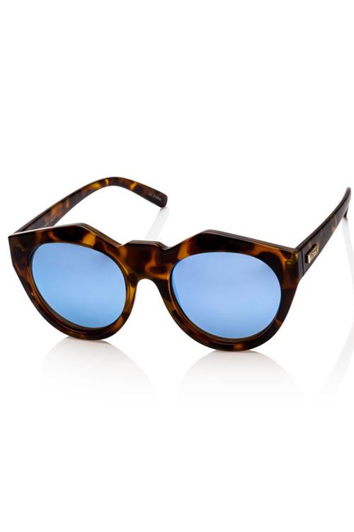 Le Specs Neo Noir Sunglasses- Tortoise