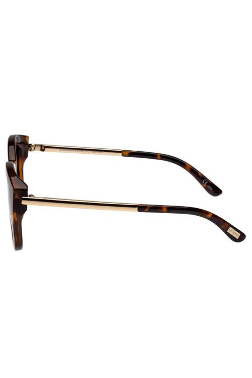 Le Specs Runaways Lux Sunglasses- Tortoise