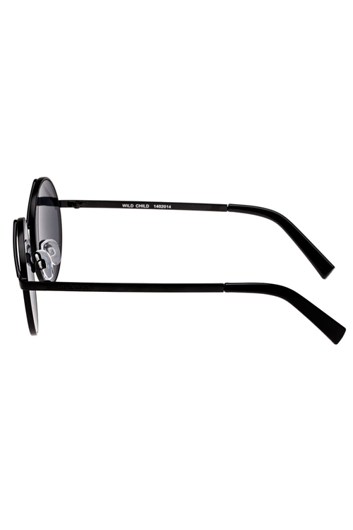 Le Specs Wild Child Sunglasses- Black