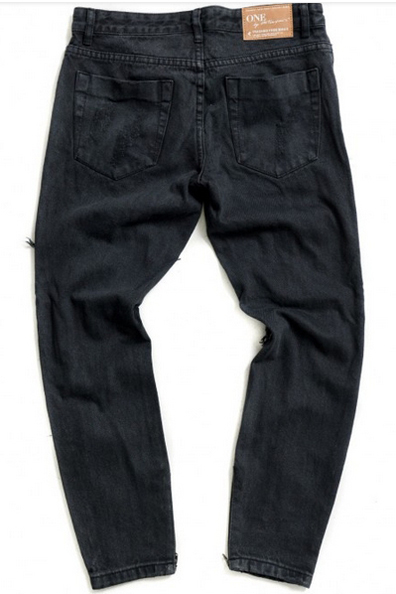 ONE TEASPOON Freebird Jeans- Fox Black