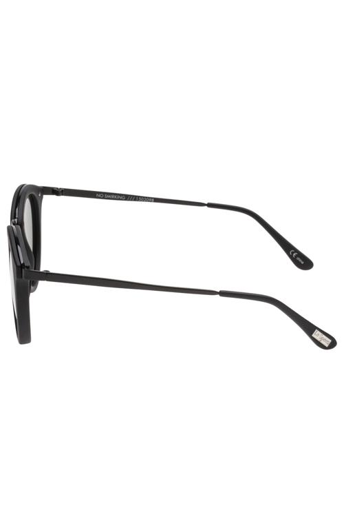 Le Specs No Smirking Sunglasses- Black