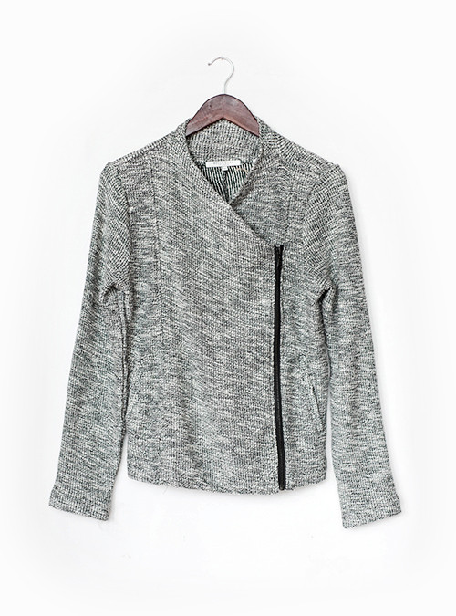 Bella Luxx Asymmetrical Moto Jacket