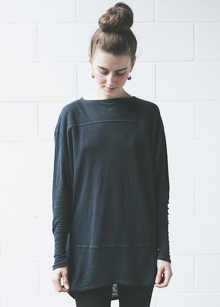 Dolan Round Shoulder Tunic | Deep