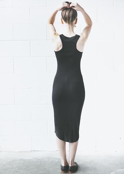 Dolan Sleeveless Slip Dress | Black