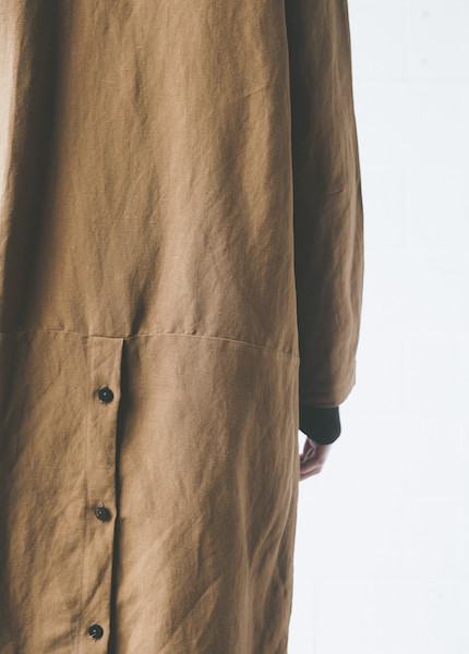First Rite Mid Length Overcoat | Amber