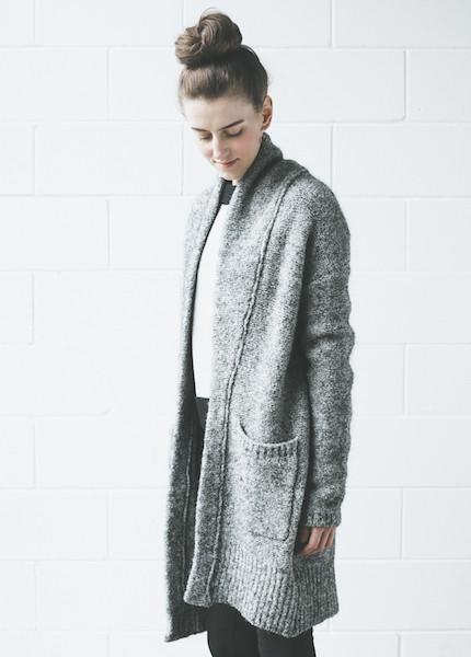 Line Knitwear Claudette   Dark Star