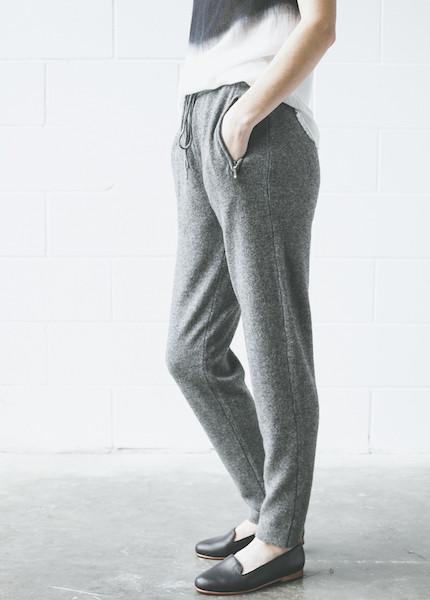 Line Knitwear Keira Knit Pants | Thunder