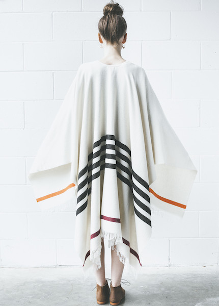 Rag & Bone Ines Poncho | Cream