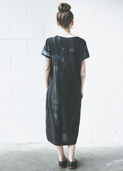 Uzi Tee Dress | Tie Dye