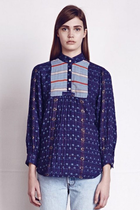 Ace & Jig Folk Blouse