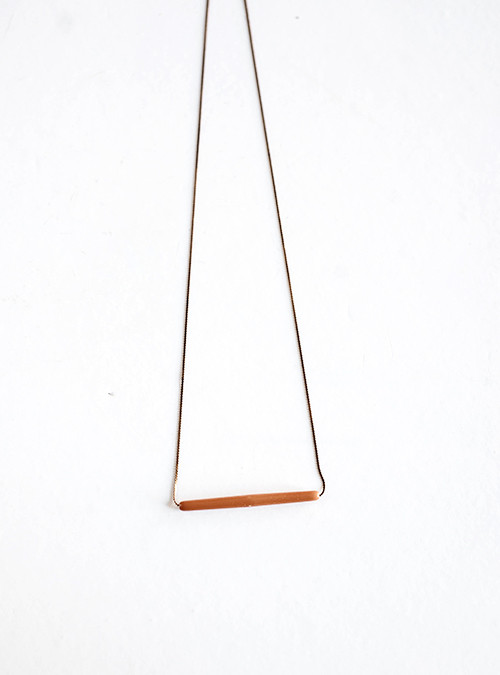 Yield Design Co. Saffron Necklace