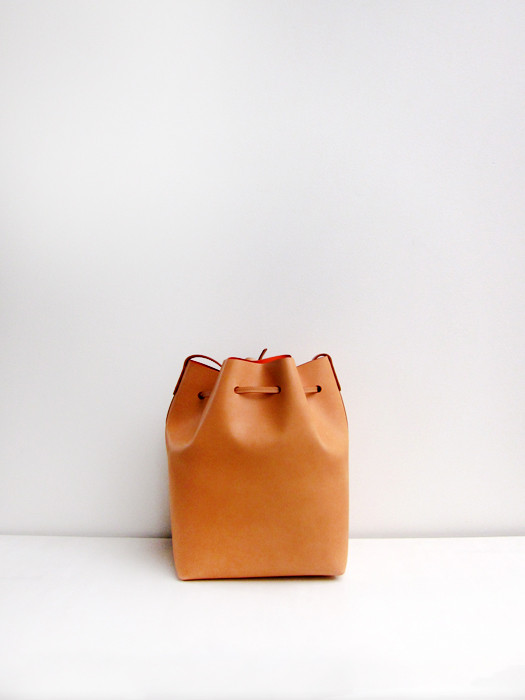 Bucket Bag, Cammello/Orange