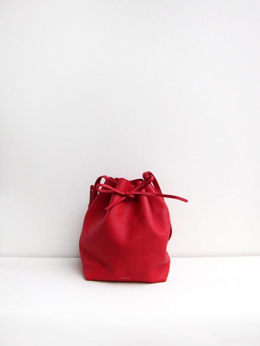 Bucket Bag, Tumbled, Flamma