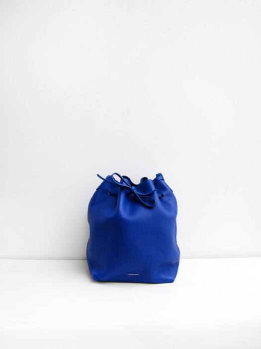 Bucket Bag, Tumbled, Royal
