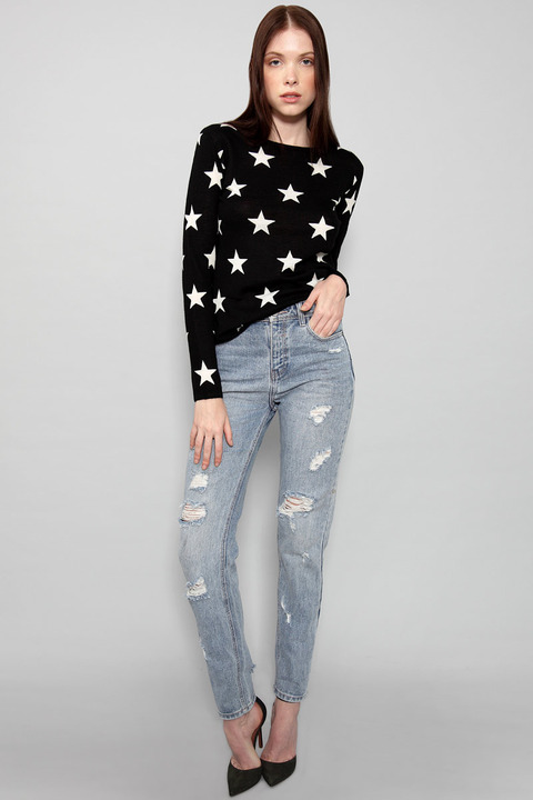 Banjo & Matilda Star Crewneck Sweater