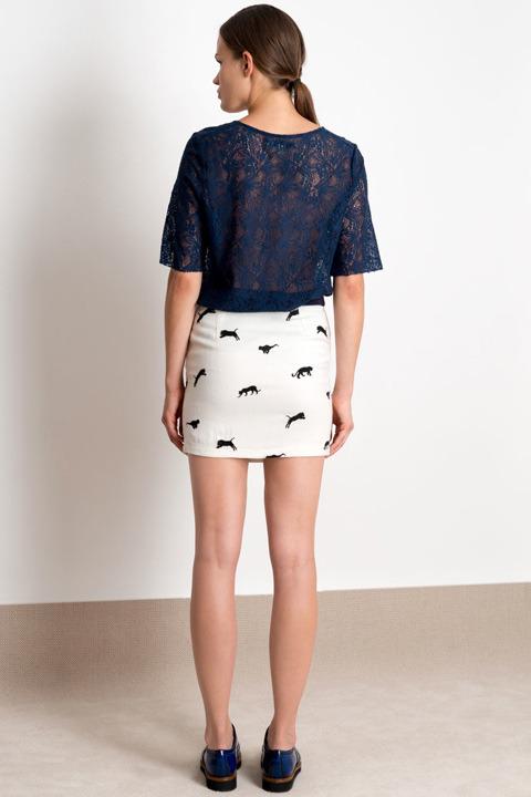 Valentine Gauthier Jaguar Skirt