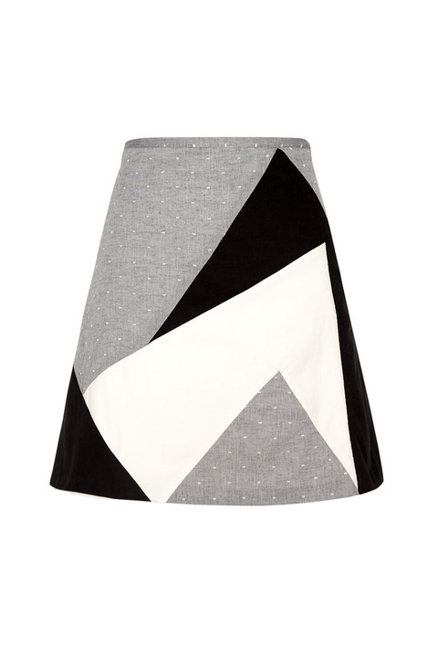 LITKE Triangle A-line Skirt