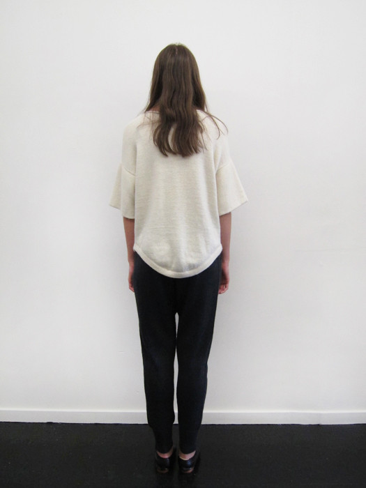 Lauren Manoogian Dovetail Pullover   White