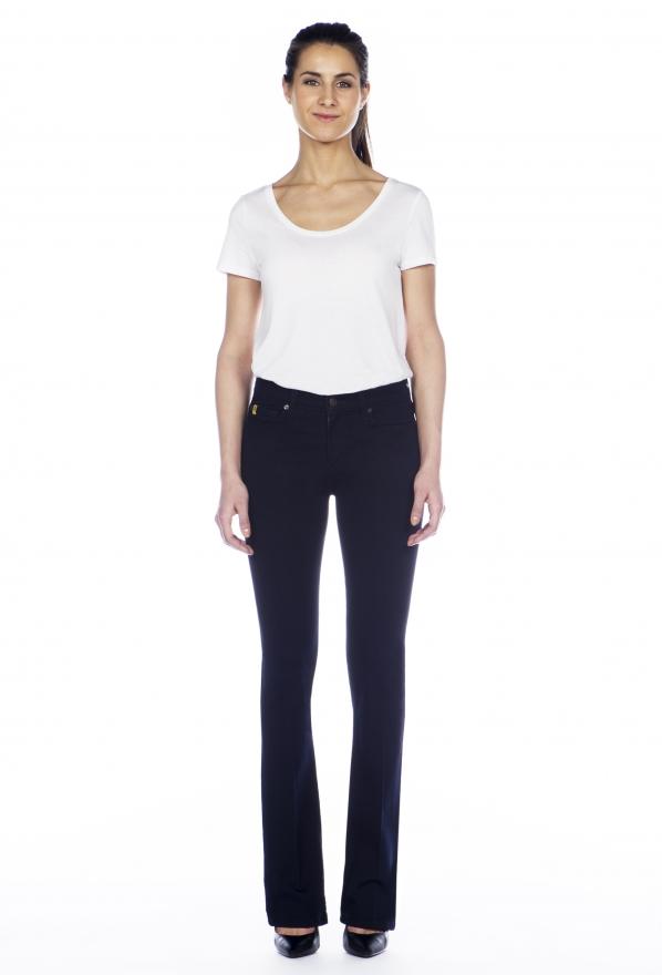 Second Yoga Jeans Shape High Rise Boot Cut Jeans