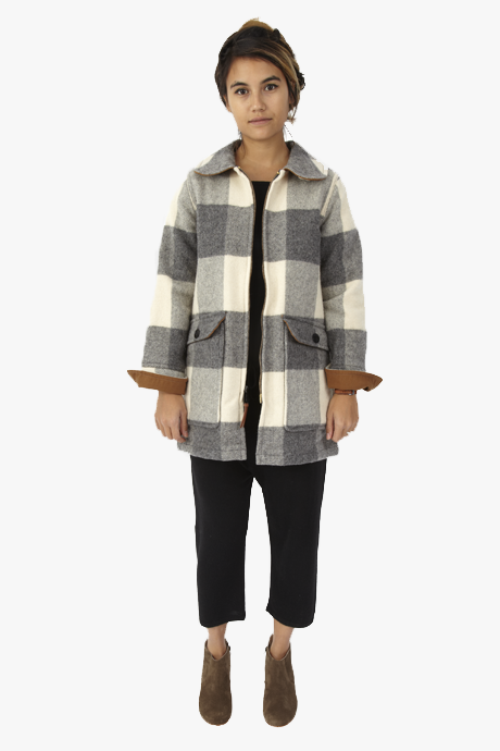 Woolrich Buffalo Plaid Coat