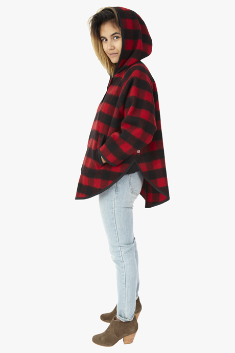 Mill Wool Popover Poncho