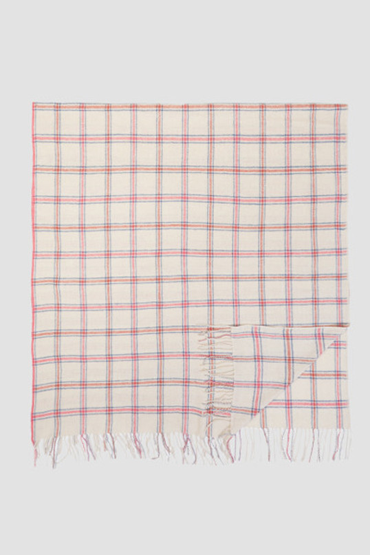 Standard Form Pale Neo Windowpane Scarf