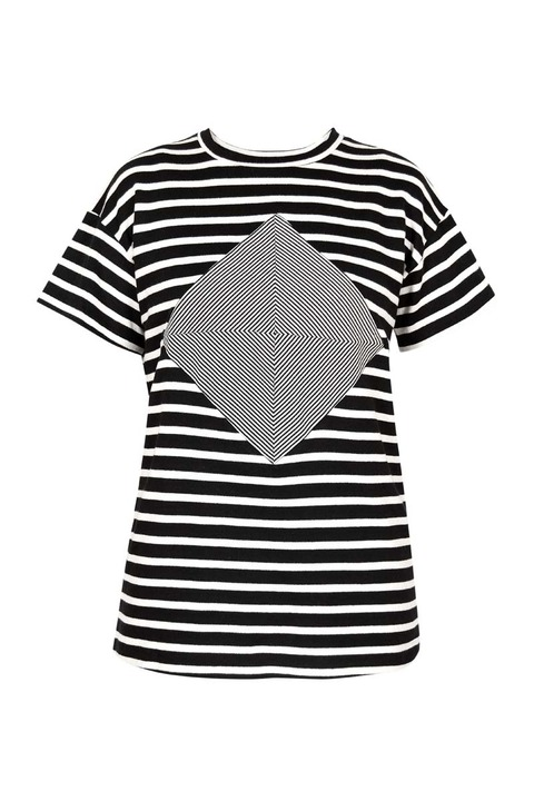 LITKE Cube Striped Tee